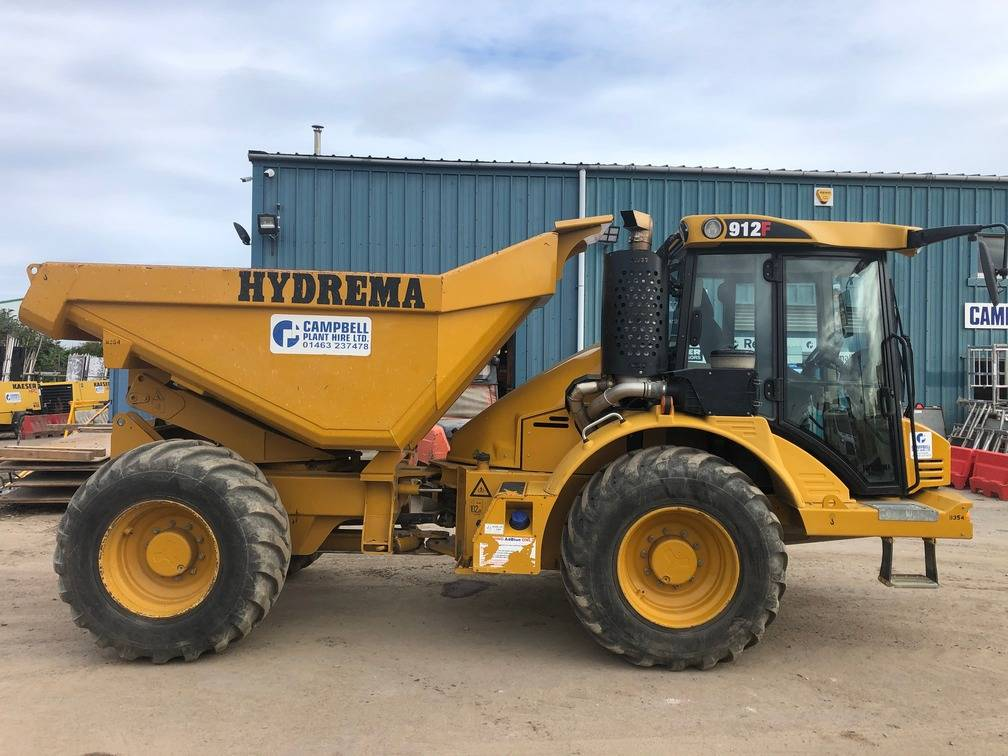 Hydrema 912F, Articulated Dump Trucks (ADTs), Construction
