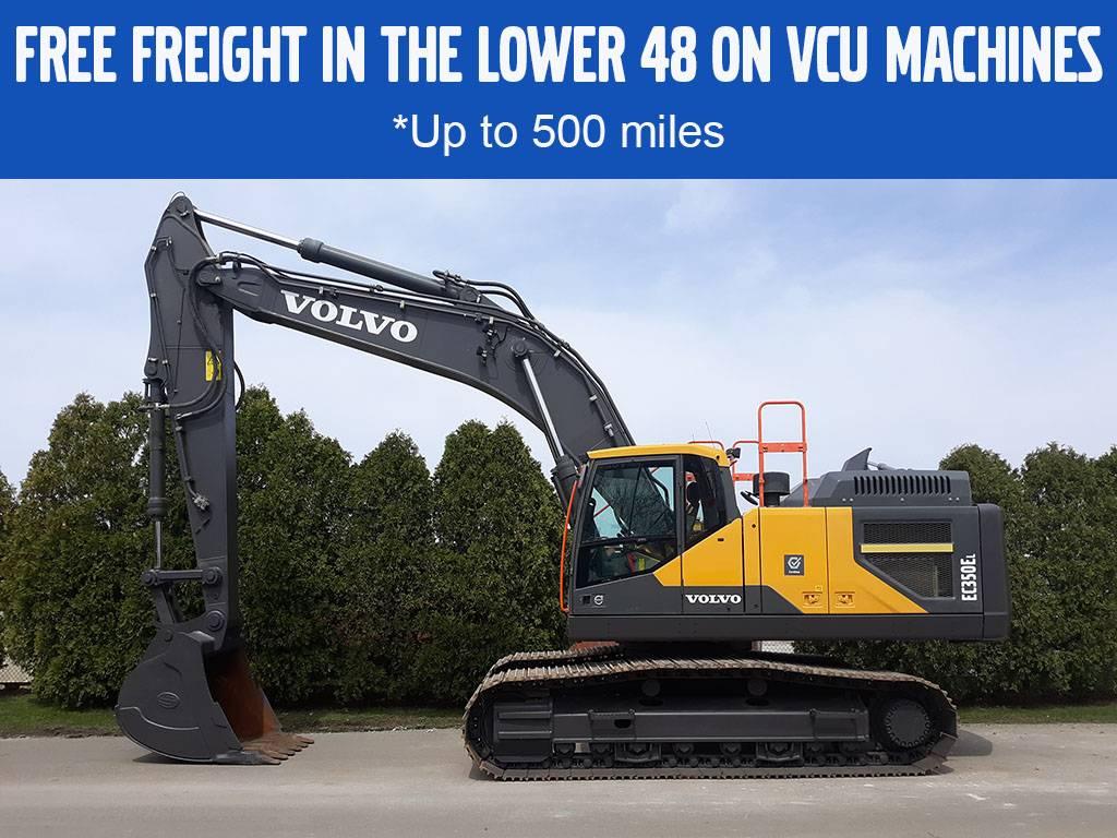Volvo EC350EL, Crawler Excavators, Construction Equipment
