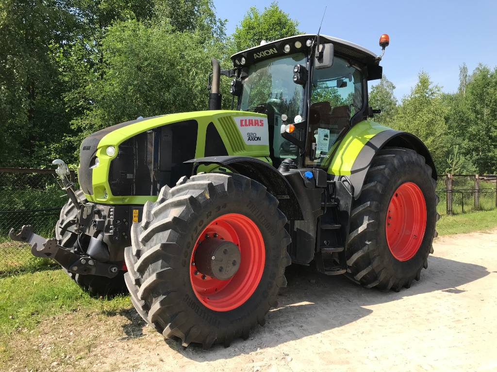CLAAS Axion 920 CMATIC, Tractors, Agriculture
