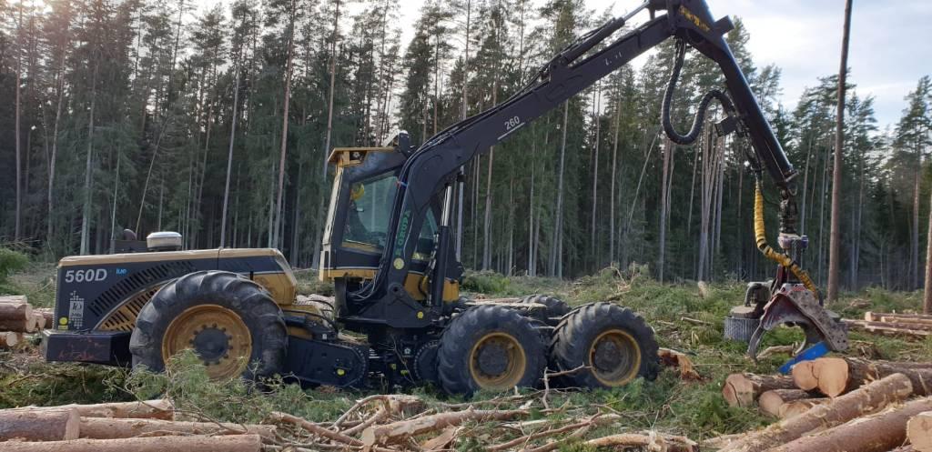 Eco Log 560 D, Miško technika (Harvesteriai), Miško technika