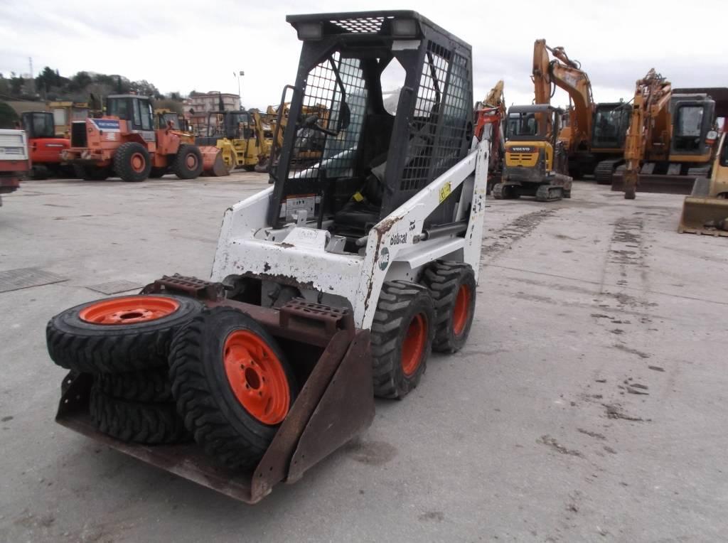 Bobcat 463, Skid Steer Loaders, Construction Equipment
