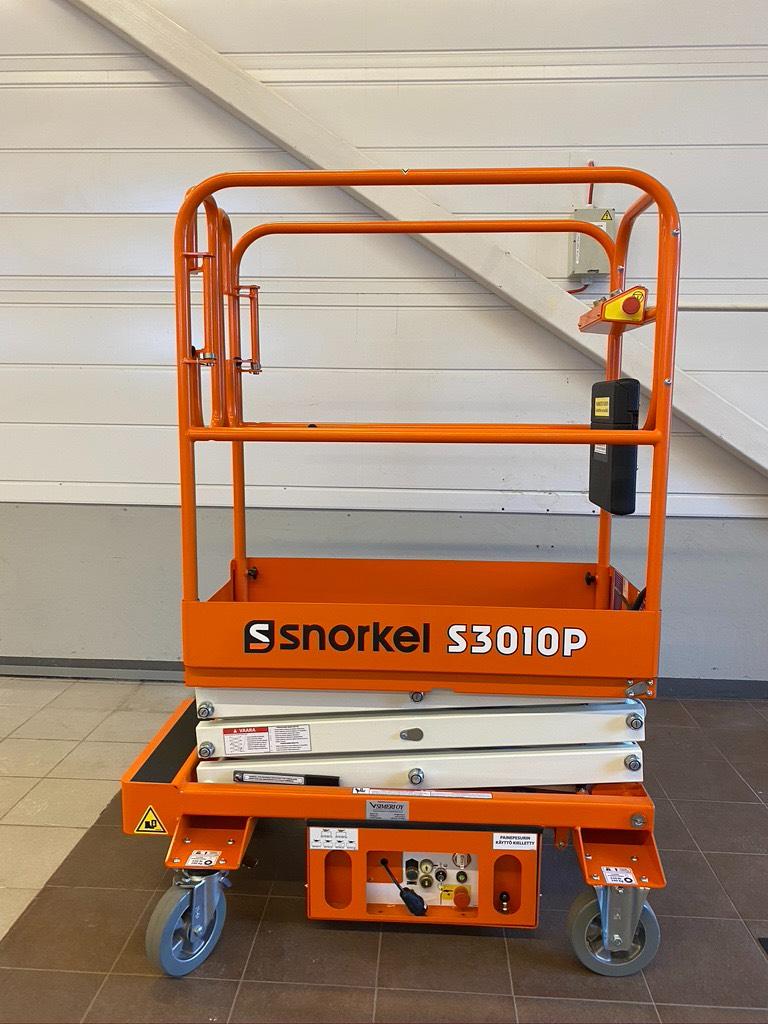 Snorkel S3010 P henkilönostin, Saksilavat, Maarakennus