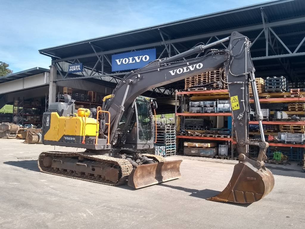 Volvo EC 140EL, Crawler Excavators, Construction Equipment