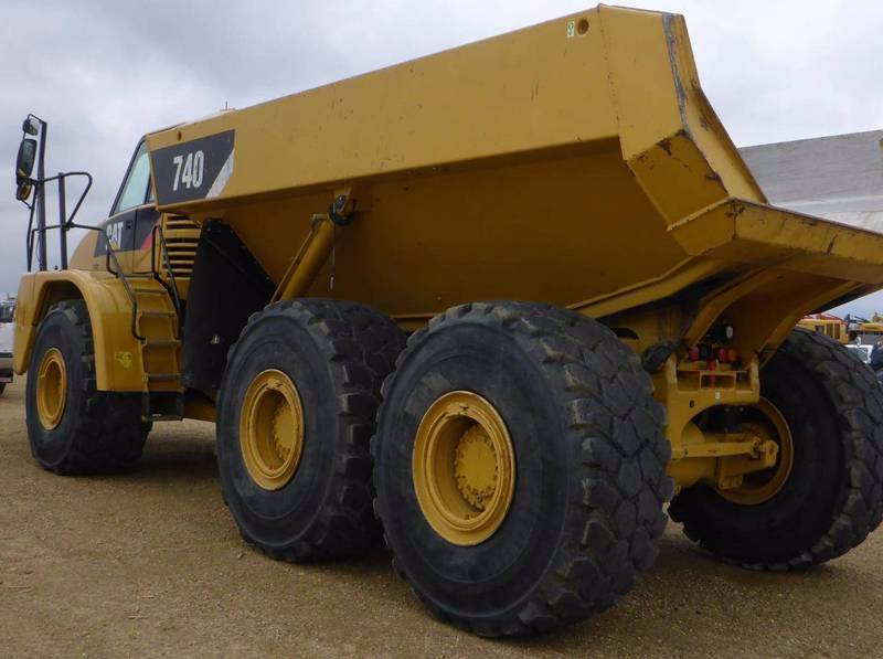 Caterpillar 740, Articulated Dump Trucks (ADTs), Construction Equipment