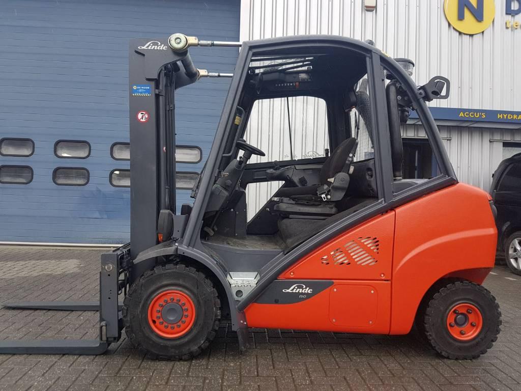 Linde H35D-02, Diesel heftrucks, Laden en lossen