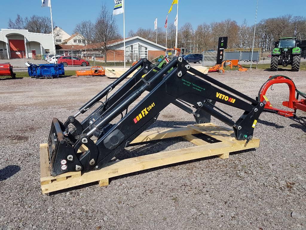 Veto FX 5941, Frontlastare och grävare, Lantbruk