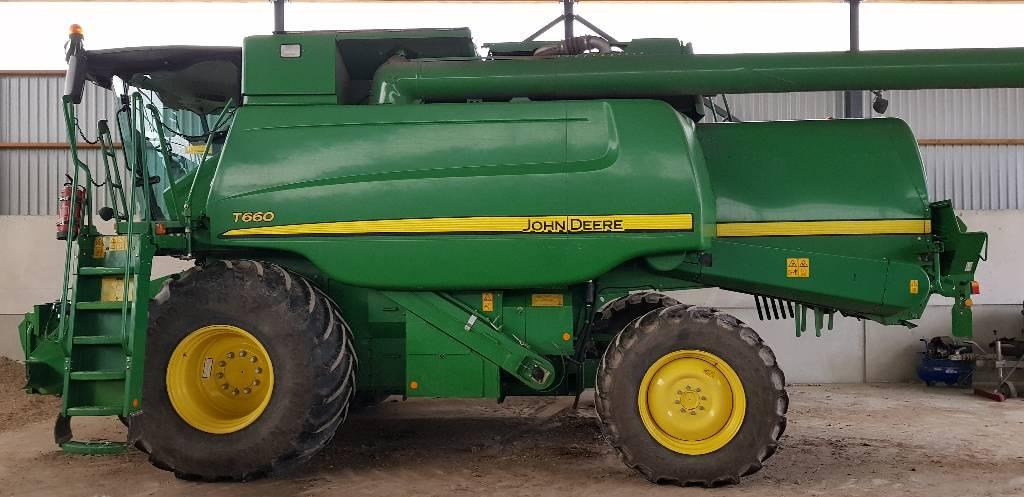 John Deere T 660, Kombainid, Põllumajandus