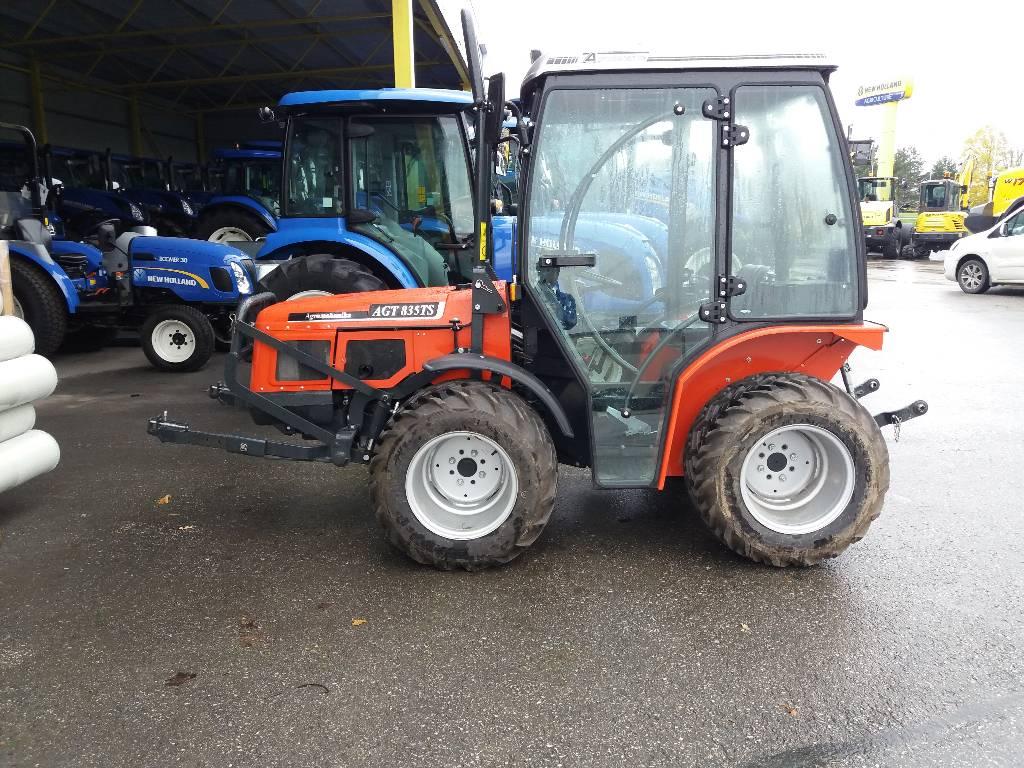 AGT 835 TS, Traktorid, Põllumajandus