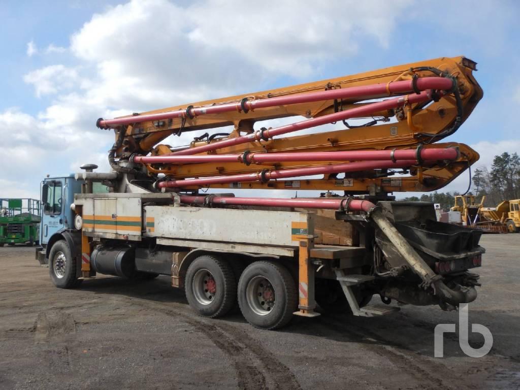Putzmeister BSF 32Z, Boom Pumps, Construction Equipment