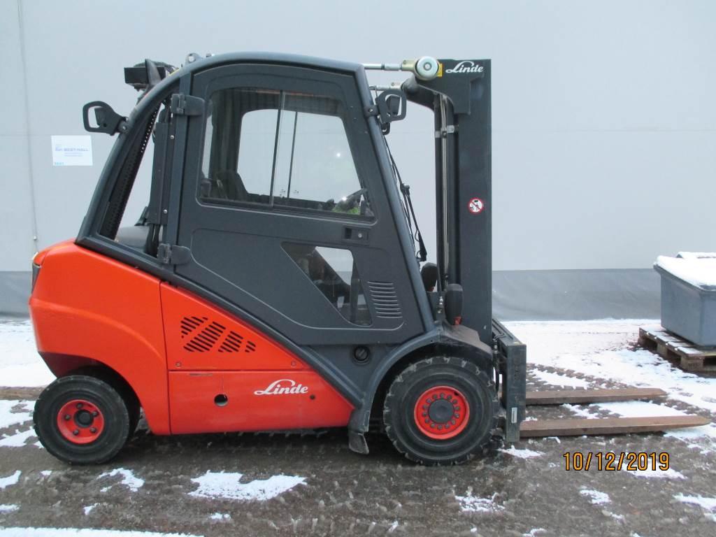 Linde H30D, Dieseltrukit, Materiaalinkäsittely