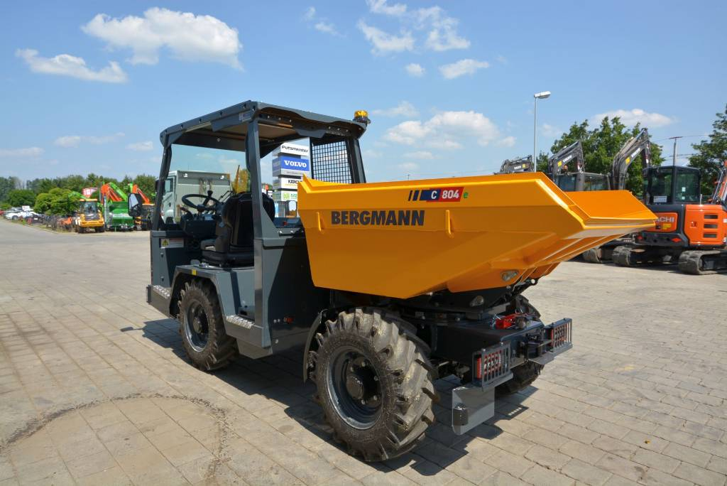 Bergmann C 804s, Dumper - Knickgelenk, Baumaschinen