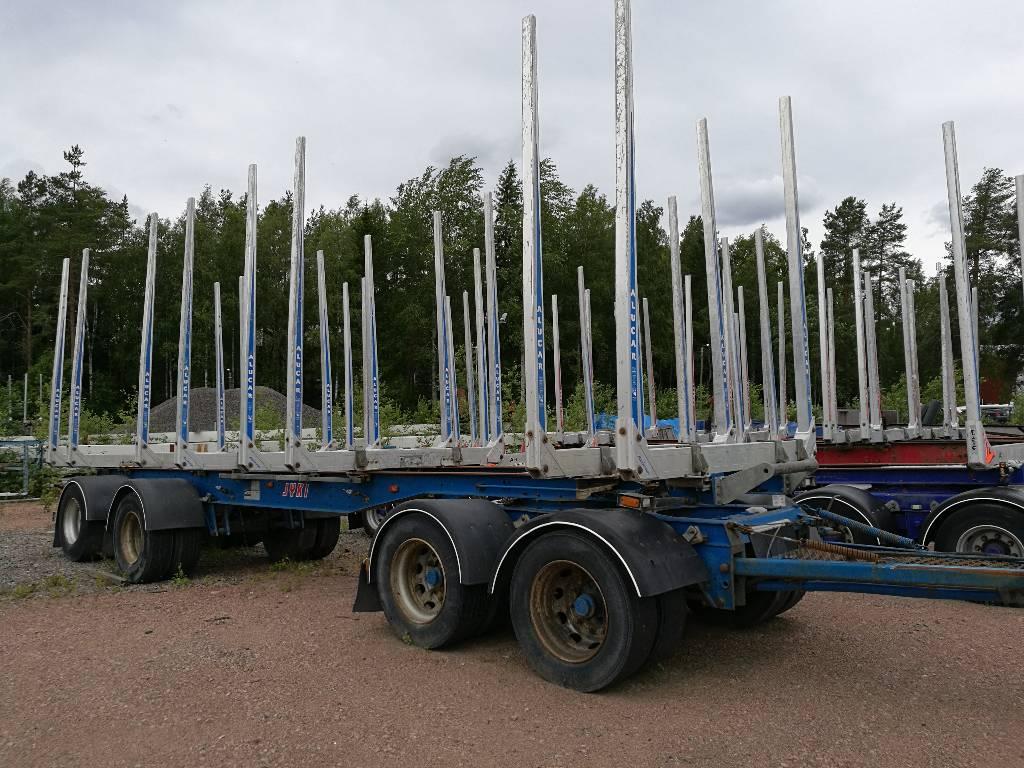 Jyki V 42 T00, Puuperävaunut, Kuljetuskalusto