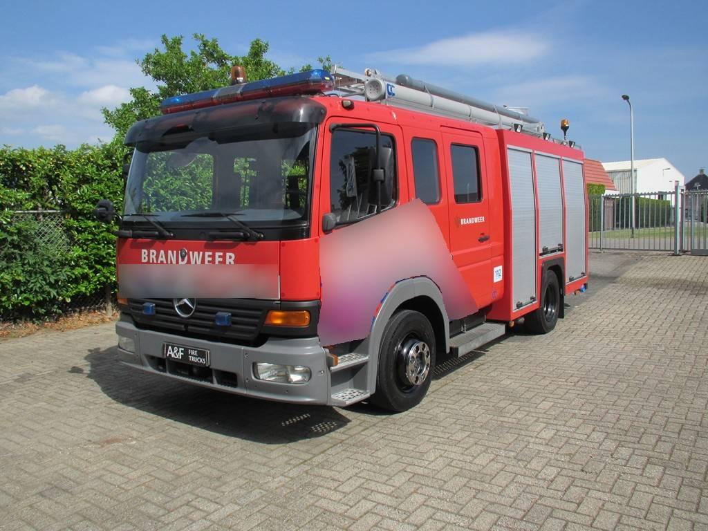 Mercedes Benz Atego C&C  Firetruck, Brandweerwagens, Transport