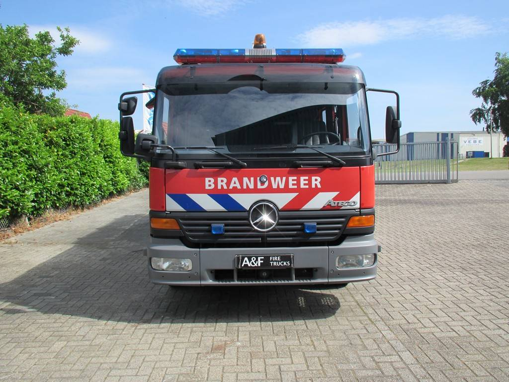 Mercedes Benz Atego C&C  Firetruck, Fire trucks, Transportation
