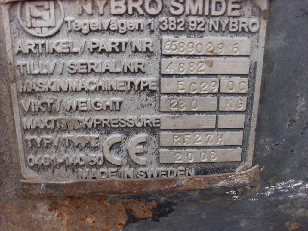 Nybro Smide EC290C RF27H, Redskapsfäste/ adaptrar, Entreprenad