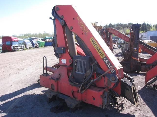 Palfinger PK23002, Kraanade varuosad ja varustus, Ehitusmasinad