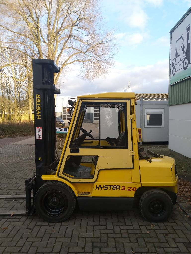 Hyster H3.20XML Heftruck, LPG heftrucks, Laden en lossen