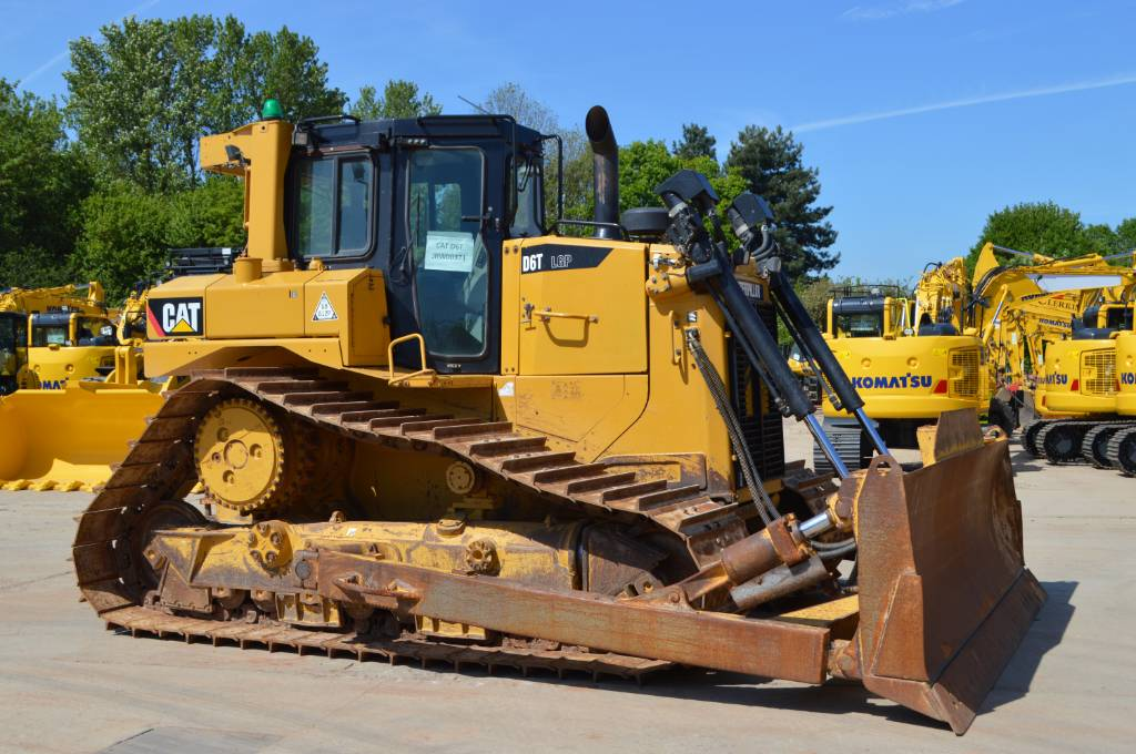 Caterpillar D6TLPG, Crawler dozers, Construction Equipment