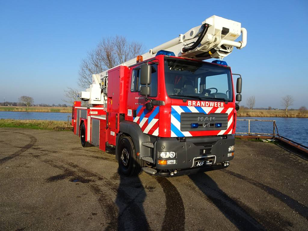 MAN Metz aerial platform /Hebebühne TGA18.360, Fire trucks, Transportation