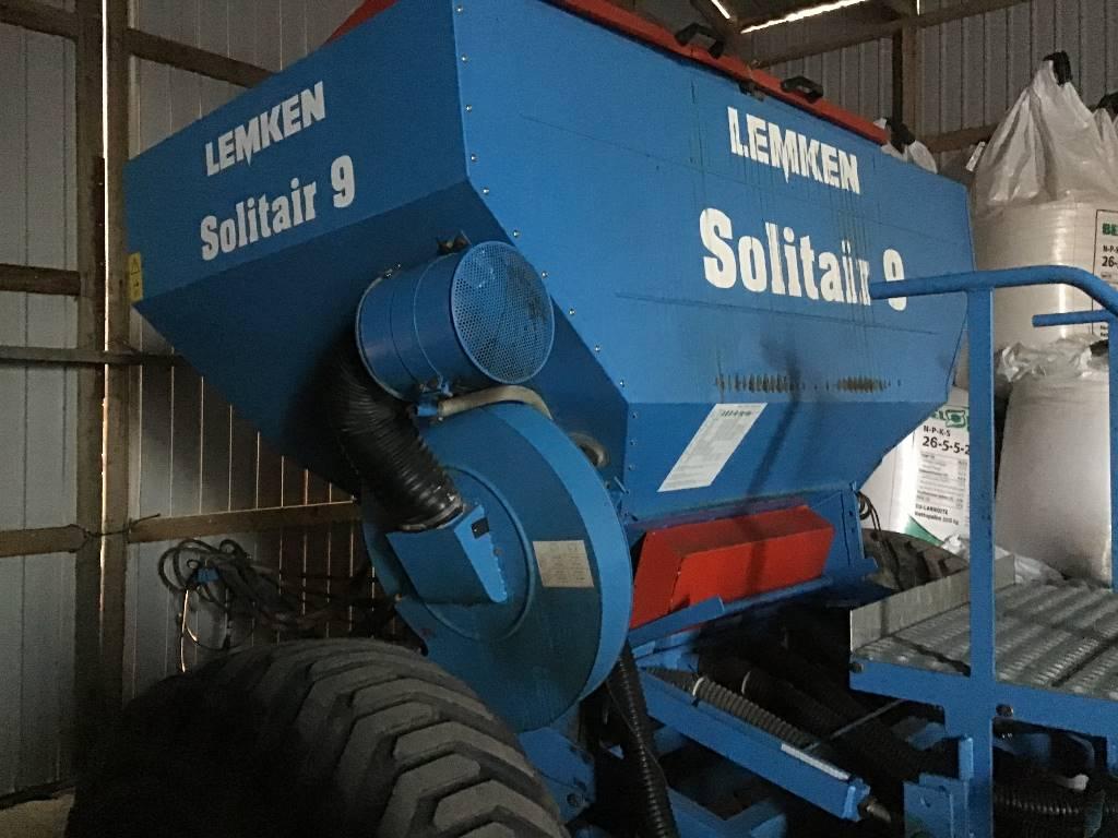 Lemken SOLITAIR 9 4 M KIINT PUHALLINKYLVÖKONE, Other agricultural machines, Agriculture
