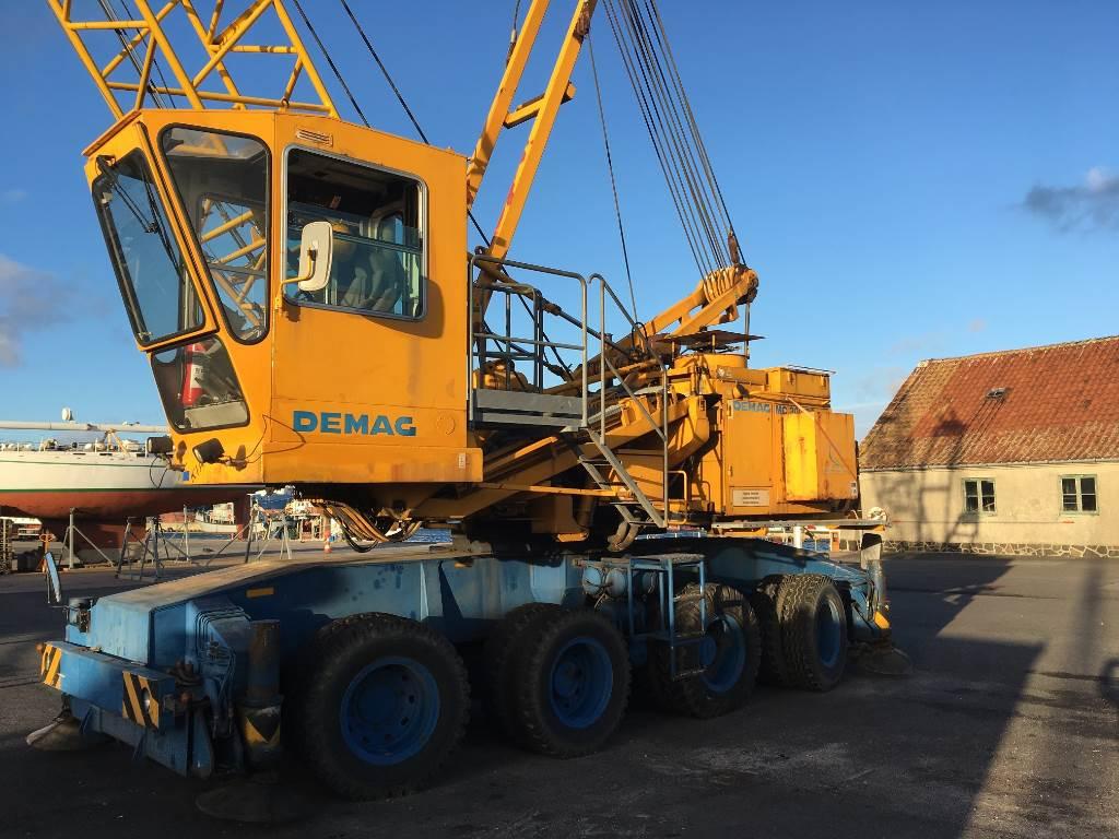 Demag MC 300RQ, Havnekraner, Trucks