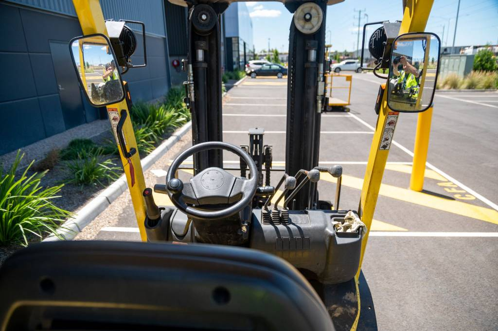 Hyster H2.5TX, LPG counterbalance Forklifts, Material Handling