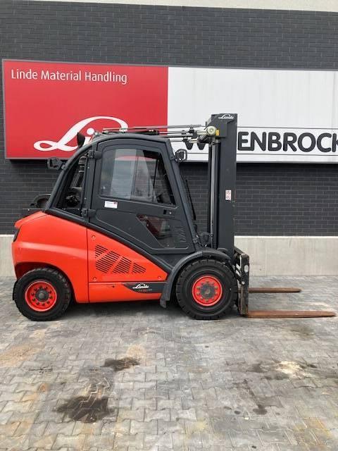 Linde H50T/394, LPG trucks, Material Handling