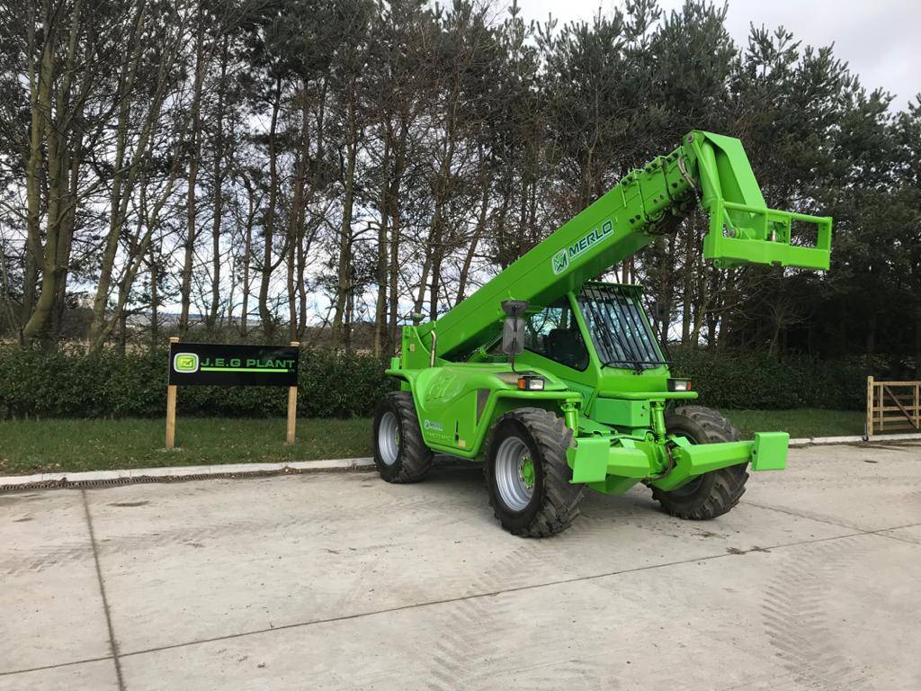 Merlo P 40.17, Telescopic handlers, Construction