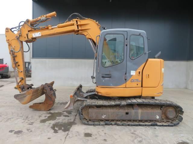 CASE CX 75 SR, Midigraafmachines 7t - 12t, Bouw