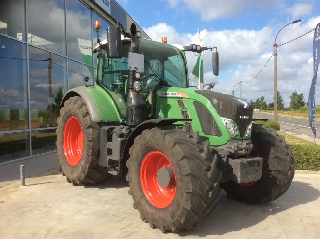 Fendt 724 Vario SCR, Tractoren, Landbouw