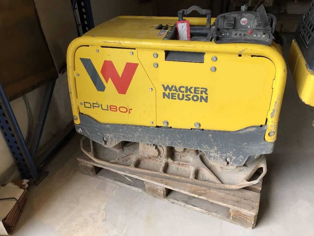 Wacker Neuson DPU 80R, Vibrationsgeräte, Baumaschinen
