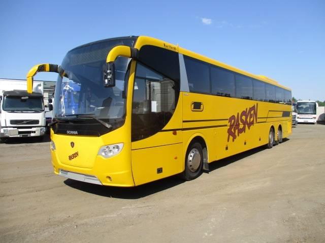 Scania K340 OmniExpress, Kaugsõidubussid, Transport