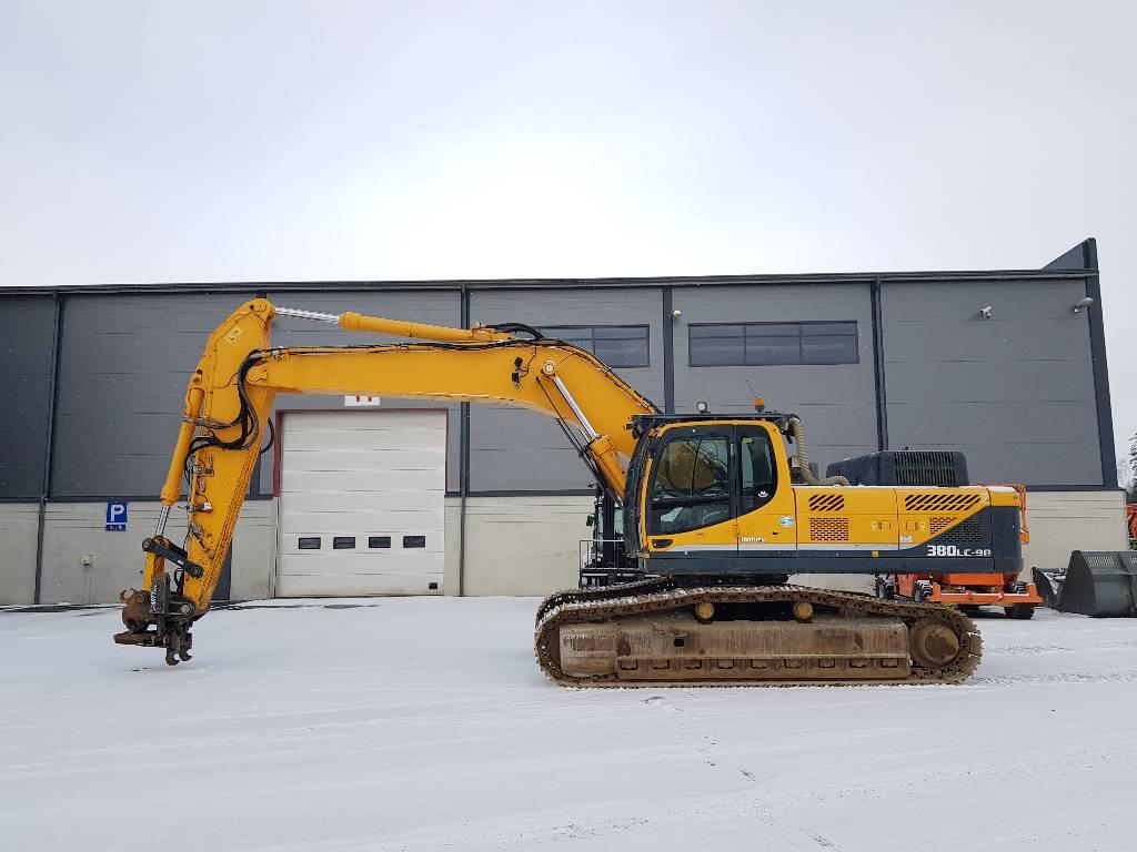 Hyundai ROBEX 380LC-9A, Crawler excavators, Construction