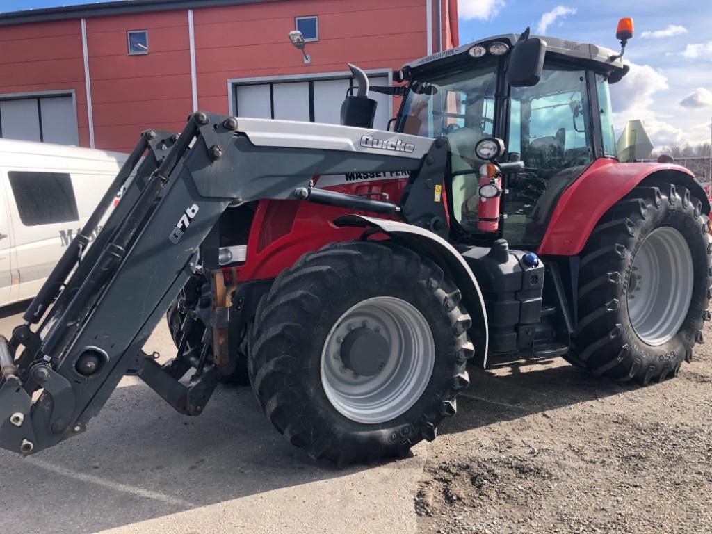Massey Ferguson 7616 Dyna VT, Traktorer, Lantbruk