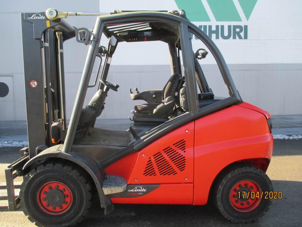 Linde H 50, Dieseltrukit, Materiaalinkäsittely