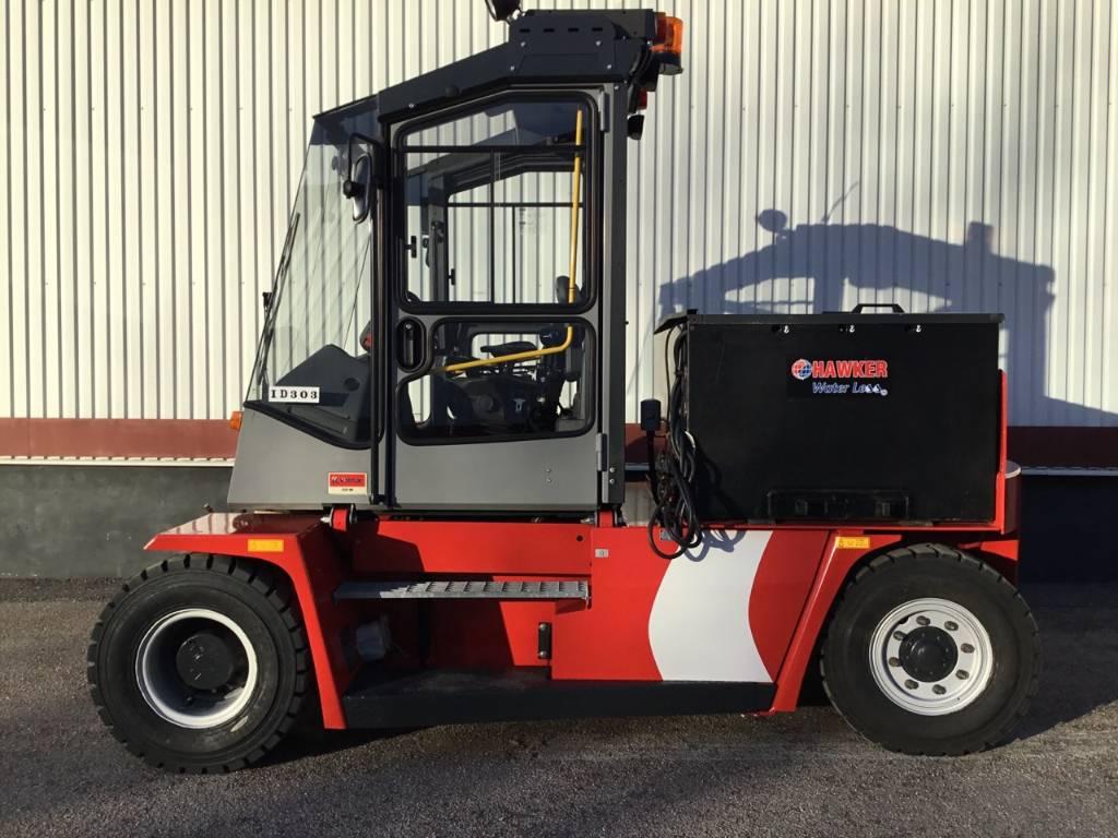 Kalmar ECF80-9, Electric forklift trucks, Material Handling