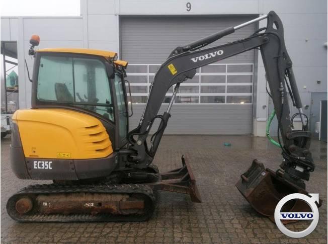 Volvo EC 35 C, Mini Excavators <7t (Mini Diggers), Construction Equipment
