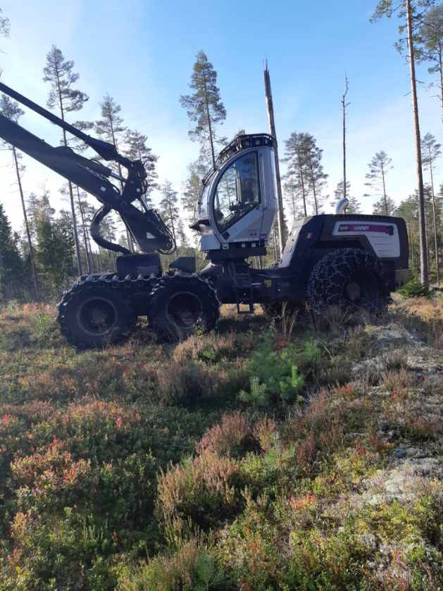Logset 6HP, Harvesters, Forestry