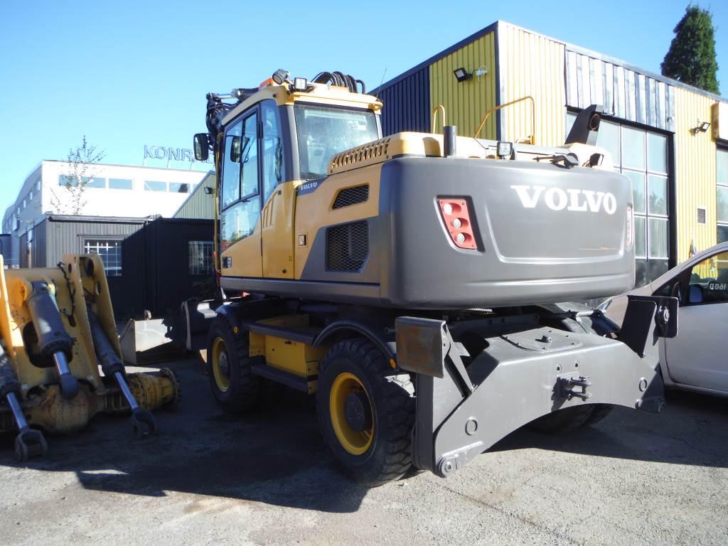 Volvo EW160D / EW160, Hjulgrävare, Entreprenad