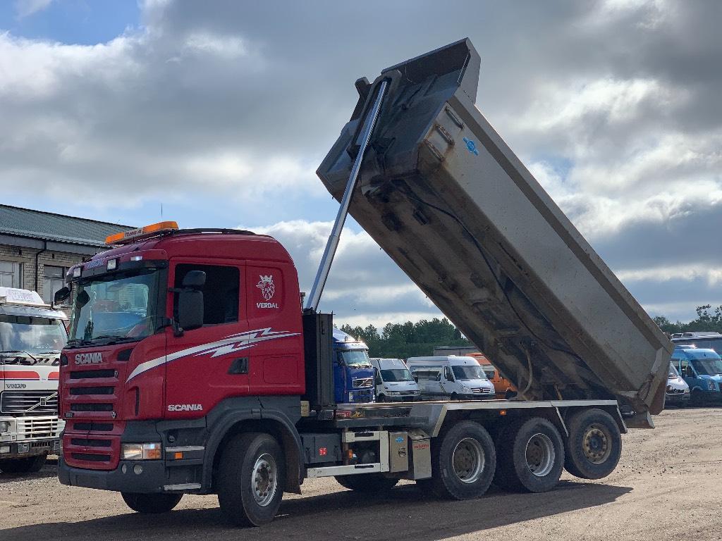 Scania R560 Manual/Retarder/Box heating, Kallurid, Transport