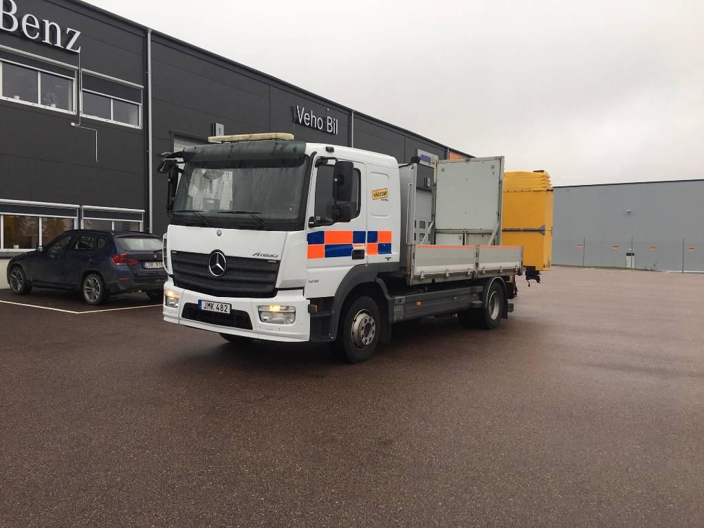 Mercedes-Benz TMA Atego 1218 L, Flakbilar, Transportfordon