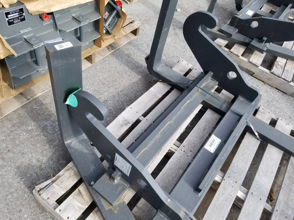 Weidemann Hook and Pin Pallet Forks, Wheel Loader Attachments, Products