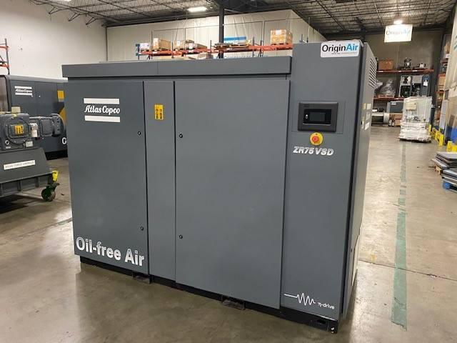 Atlas Copco ZR 75VSD, Compressors, Industrial