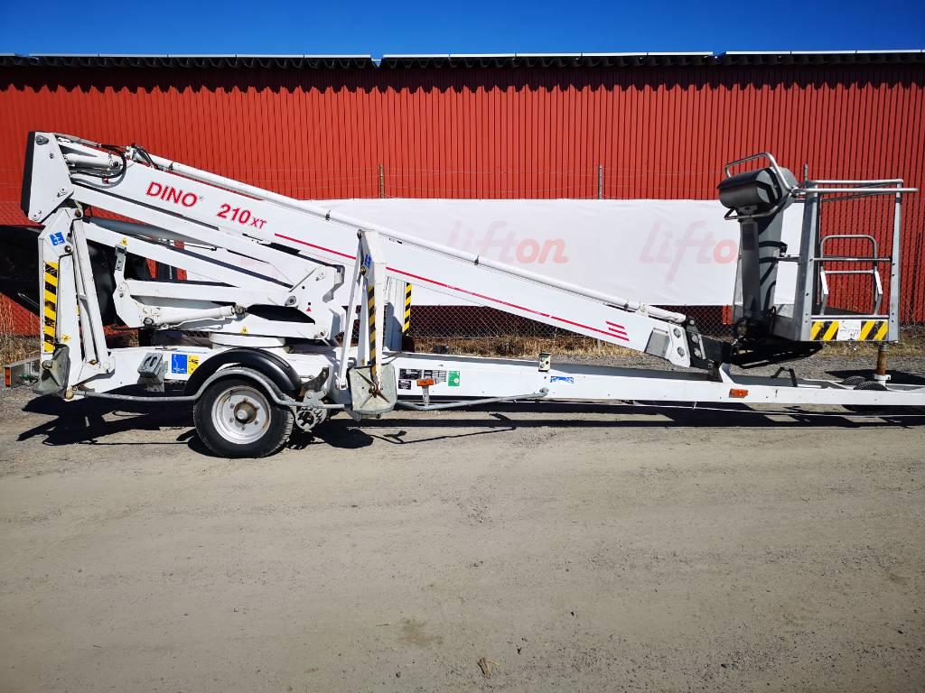 Dino 210 XT, Skylift, Entreprenad