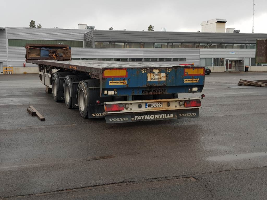 Faymonville Telemax, Z3LAA, Puoliperävaunulavetit, Kuljetuskalusto