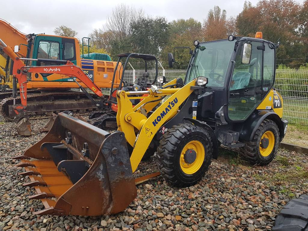 Komatsu WA70-7, Wheel loaders, Construction