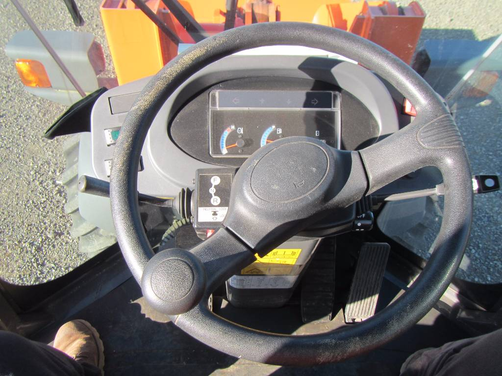 Hitachi ZW40-S67, Wheel loaders, Construction