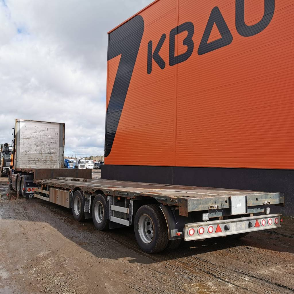 Zaslaw D-651 Jumbo 2013, Flatbed Trailers, Trucks and Trailers