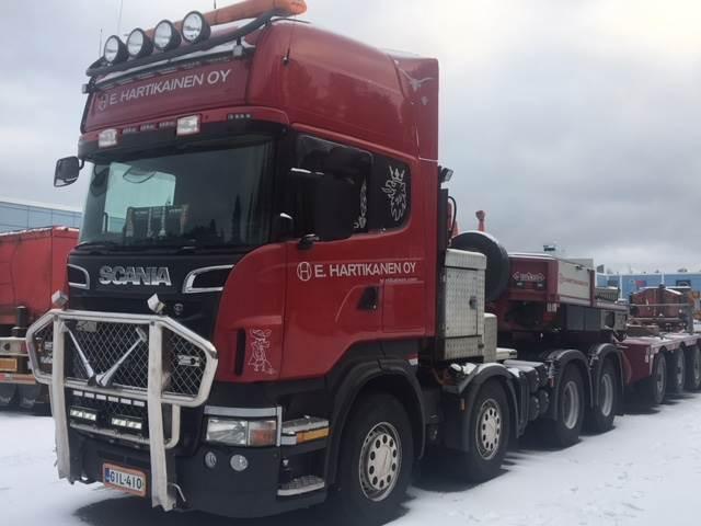Scania R620, 8x4, Vetopöytäautot, Kuljetuskalusto
