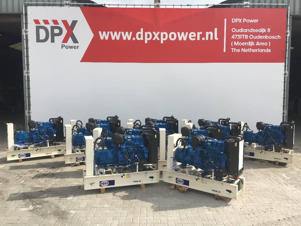 FG Wilson P 22-6 - 22 kVA Generator - DPX-16002-O - (1x), Diesel generatoren, Bouw